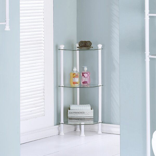 12 W x 33 H Bathroom Shelf by Monarch Specialties Inc.