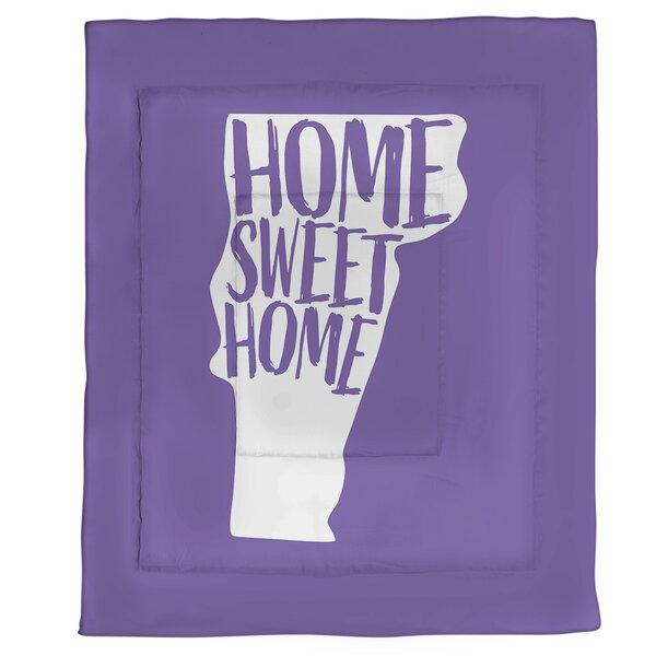Vermont Home Sweet Single Reversible Comforter