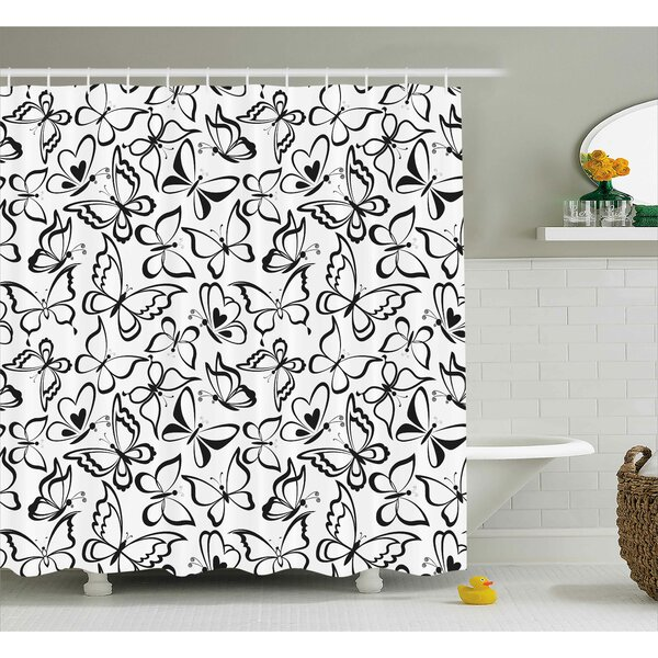 Ina Shower Curtain by Zoomie Kids