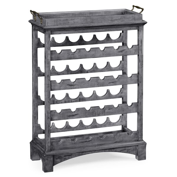 Floor Wine Bottle Rack by Jonathan Charles Fine Furniture