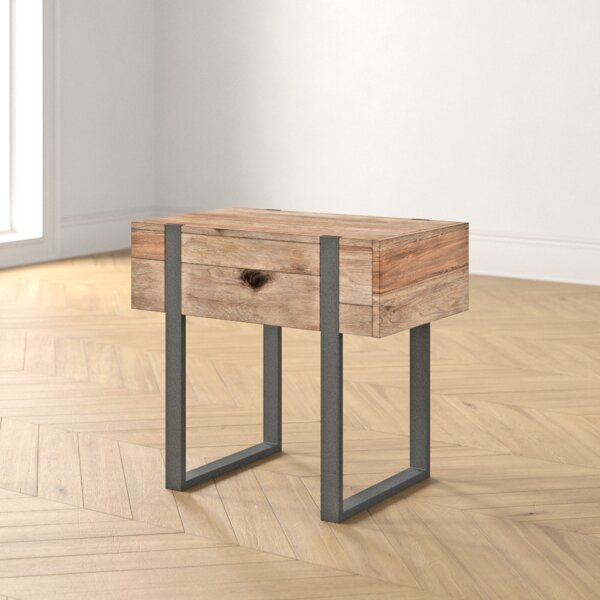 Langdon Modern End Table By Foundstone