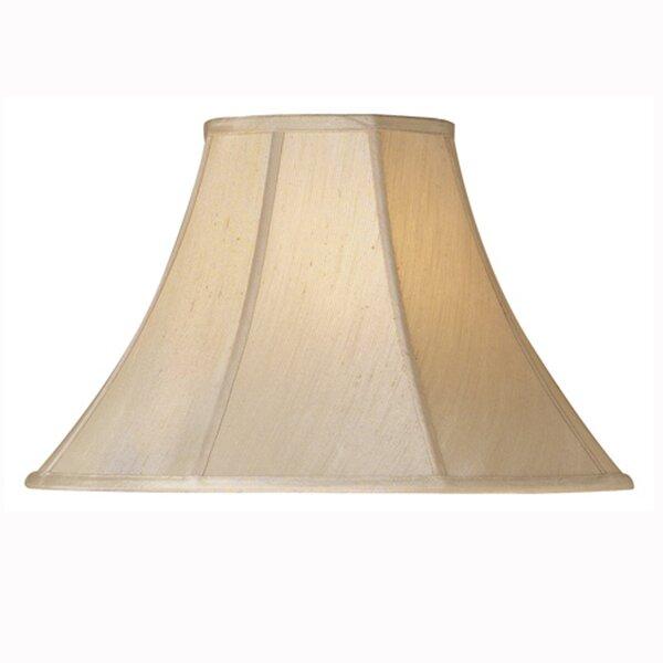 11.5 H x 19.5 W Silk/Shantung Bell Lamp Shade ( Spider ) (Set of 2)
