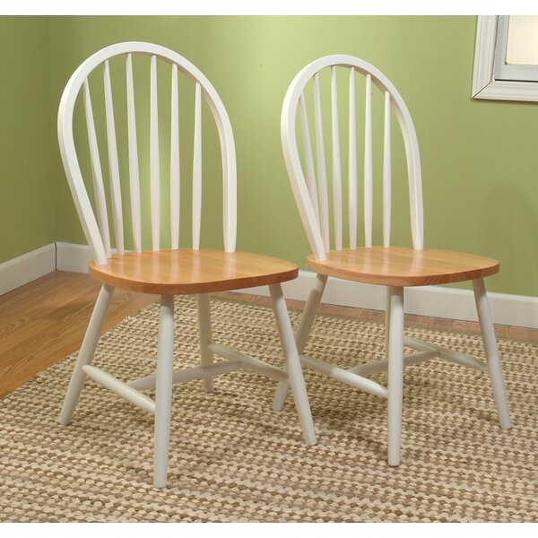 Classic Solid Wood Dining Chair (Set of 2) by TMS