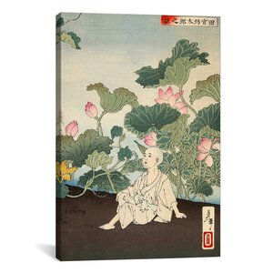 Japanese Art 'The Story of Tamiya Botaro' by Yoshitoshi Painting Print on Wrapped Canvas by iCanvas