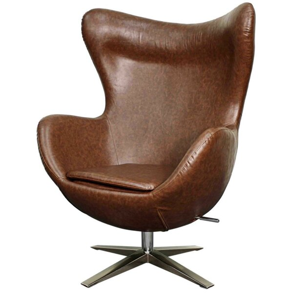 Ledet Swivel Wingback Chair by Brayden Studio