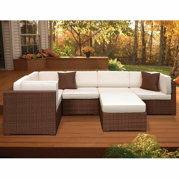 Lorentzen 6 Piece Sectional Set with Cushions by Brayden Studio