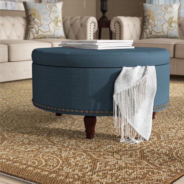 Holler Storage Ottoman by Charlton Home