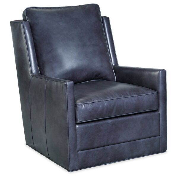 Keever Swivel 30.5-inch Club Chair by Hooker Furniture Hooker Furniture