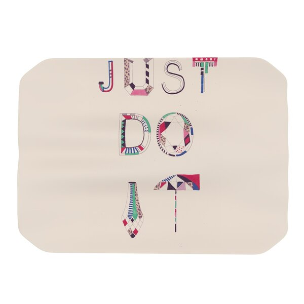 Just Do It Placemat by KESS InHouse