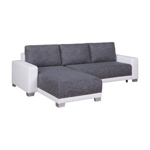 Ecksofa Nesoi mit Bettfunktion von Home Loft Co..