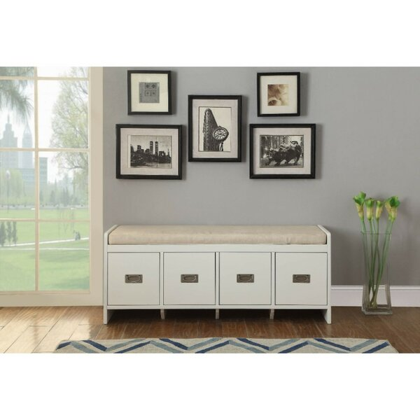 Fordwich Upholstered Storage Bench by Darby Home Co Darby Home Co