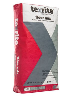 Floor Mix Unmodified Thinset 50 Lb by Travis Tile Sales