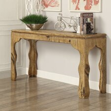 Maple Console Table and Side Tables by Hazelwood Home