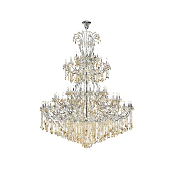 Regina 84 - Light Candle Style Tiered Chandelier By House Of Hampton