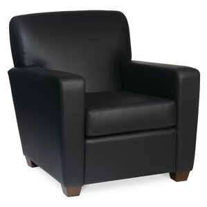 Low priced Ascot Leather Lounge Chair by Borgo