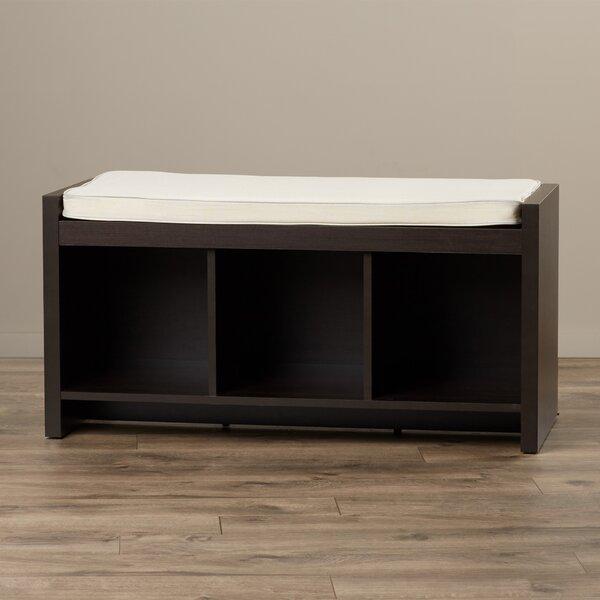 Claudia Storage Bench with Cushion by Zipcode Desi