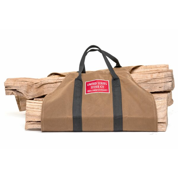 150th Anniversary Log Tote By United States Stove Company