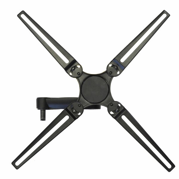 Full Motion Single Stud Tilt Wall Mount for 23-55 Flat Panel Screens by Level Mount