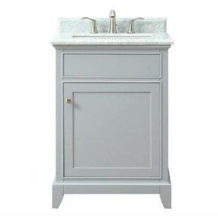 Bhushan Marble Top 25 Single Bathroom Vanity Set