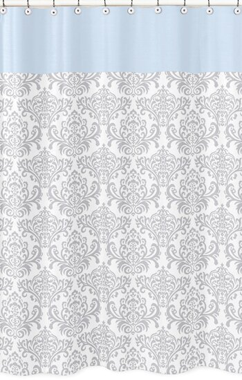 Avery Cotton Shower Curtain by Sweet Jojo Designs