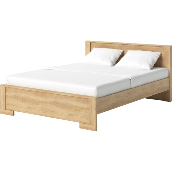 Sherrer Queen Storage Platform Bed with Mattress by Millwood Pines