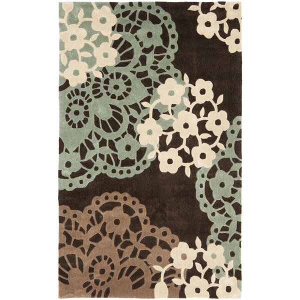 Modern Art Brown/Multi Rug by Safavieh