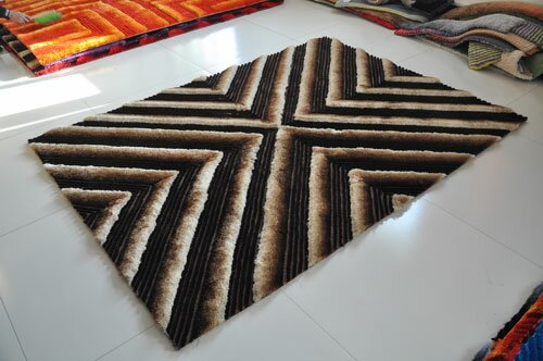 Chocolate Area Rug by Rug Tycoon