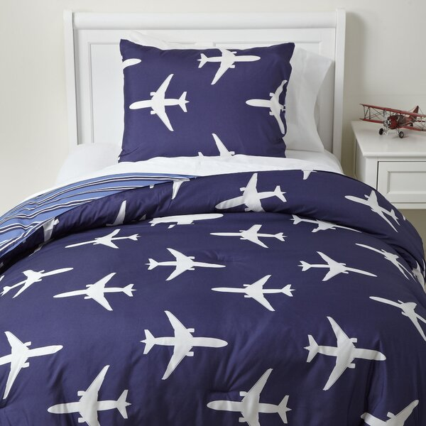 Roger Dodger Reversible Comforter Set By Birch Lane Kids.