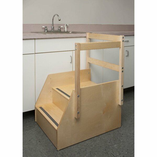 Guard Rail Step Stool by Whitney Brothers