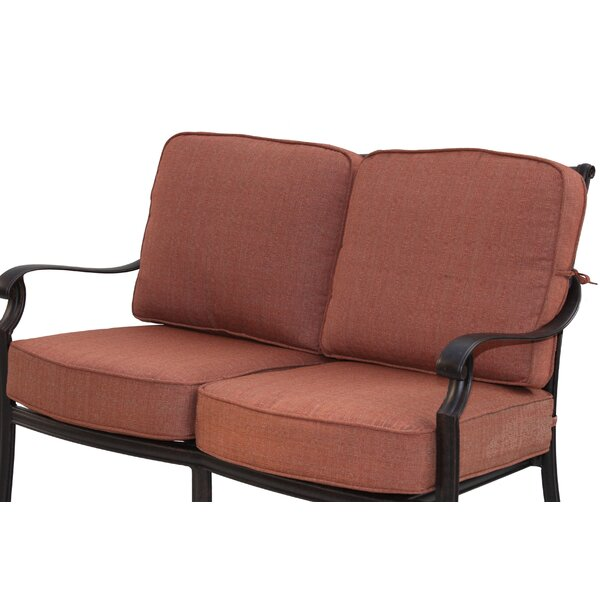Berenice Loveseat with Cushions by Astoria Grand