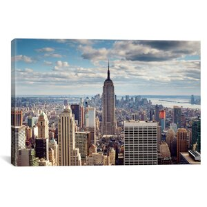 'NYC the Empire' Photographic Print by East Urban Home