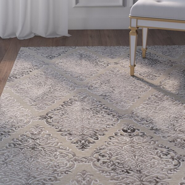 McNamara Woven Beige Area Rug by House of Hampton