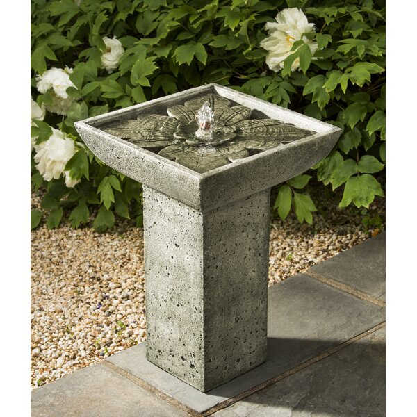 Concrete Andra Fountain by Campania International