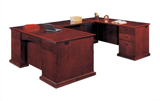 Del Mar U-Shape Executive Desk by Flexsteel Contract
