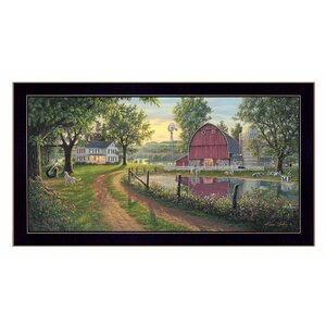 'The Road Home' Framed Graphic Art Print by Trendy Decor 4U