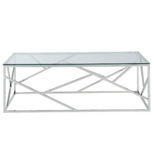 Menahan Stainless Steel Coffee Table