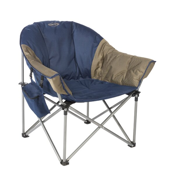 Kozy Folding Camping Chair with Cushion by Kamp-Rite Kamp-Rite