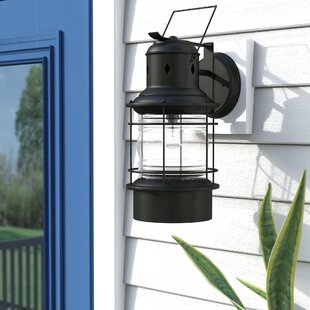 Inexpensive Granata 1-Light Outdoor Wall Lantern By Beachcrest Home