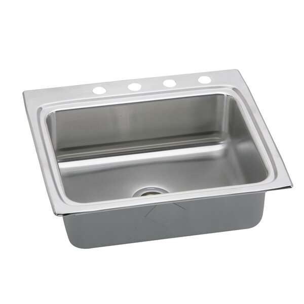 Lustertone 25 L x 22 W Drop-In Kitchen Sink by Elkay
