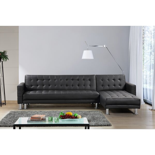 Lacaille Sleeper Sectional by Brayden Studio