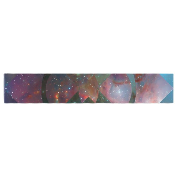 Matt Eklund Galactic Radiance Table Runner by East Urban Home