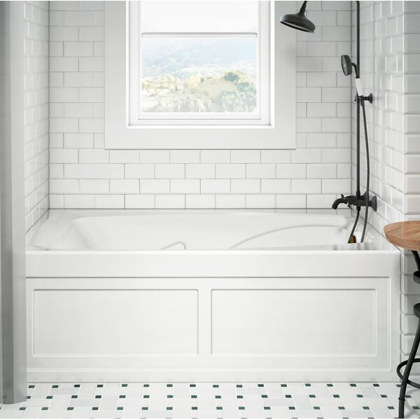 Cetra Pure Right-Hand 60 x 36 Skirted Air Bathtub by Jacuzzi®