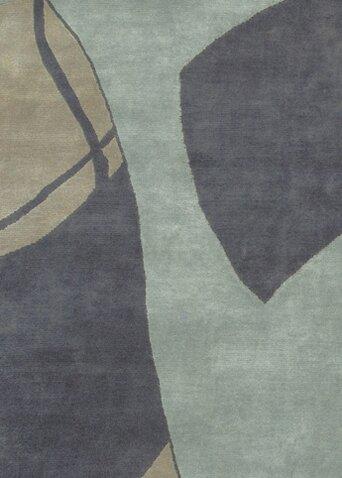 Caines Wool Brown/Tan Area Rug by Fleur De Lis Living