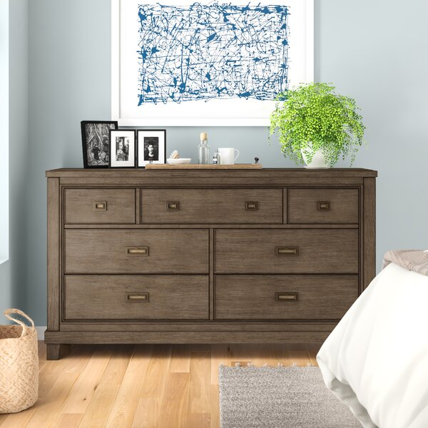 Medfield 7 Drawer Dresser by Three Posts