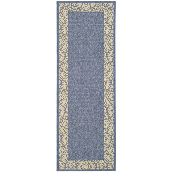 Marland Blue/Natural Area Rug by Charlton Home