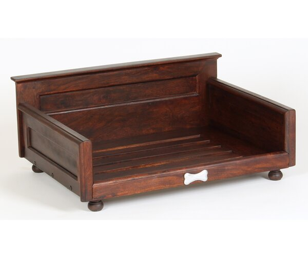 Cora Solid Wood Dog Bed by Tucker Murphy Pet