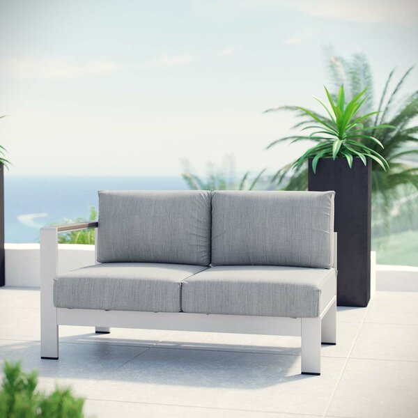 Coline Patio Loveseat with Cushions by Orren Ellis