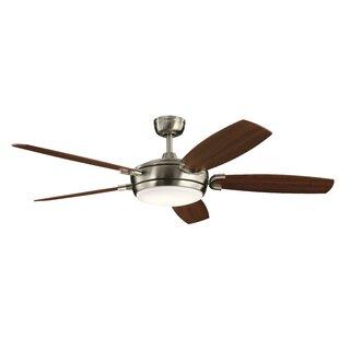 Wicker Ceiling Fan With Light   Wayfair