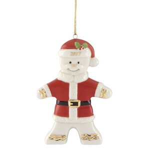 2017 Ginger Claus Hanging Figurine Ornament