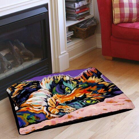 Calico Dreams Indoor/Outdoor Pet Bed by Manual Woodworkers & Weavers